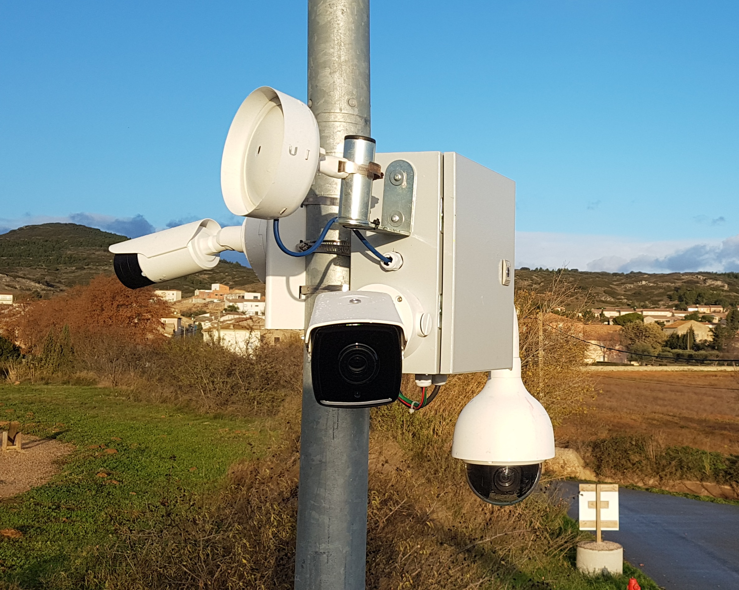 Photo caméra de surveillance à Béziers